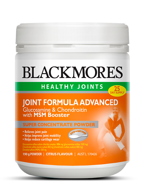 Joint Formula Advanced Glucosamine & Chondroitin with MSM Booster
