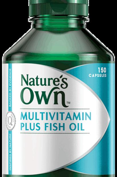 Multivitamin Plus Fish Oil