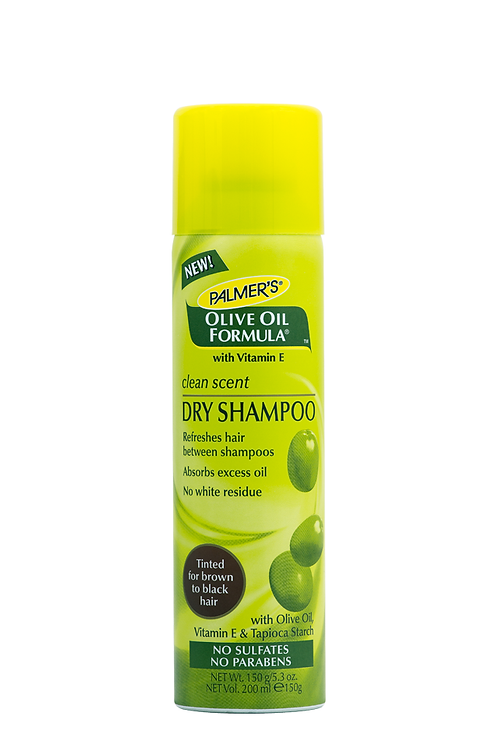 Olive Oil Formula Clean Scent Dry Shampoo