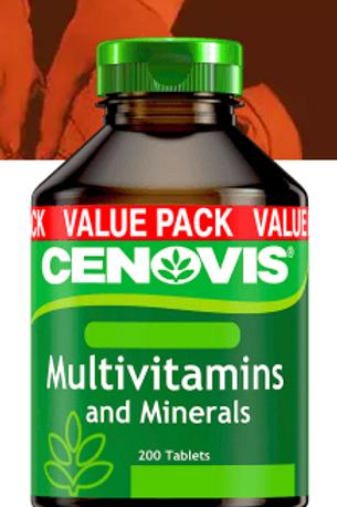 Cenovis Multivitamin and Minerals