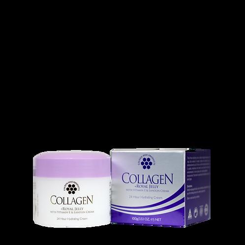 Collagen + Royal Jelly with Vitamin E & Lanolin Cream