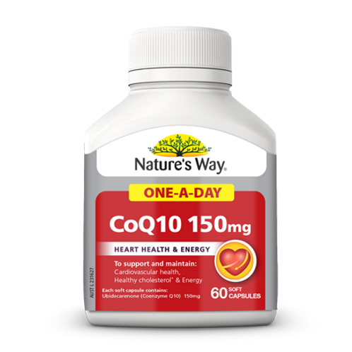 COQ10 150MG ONE-A-DAY