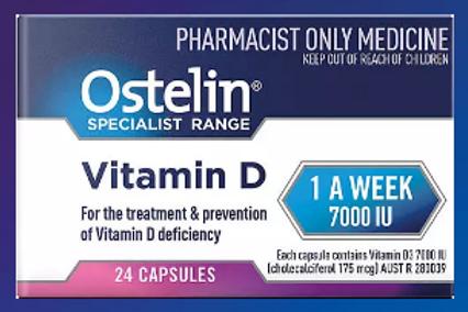 Vitamin D Specialist Range 1-A-WEEK 7000IU