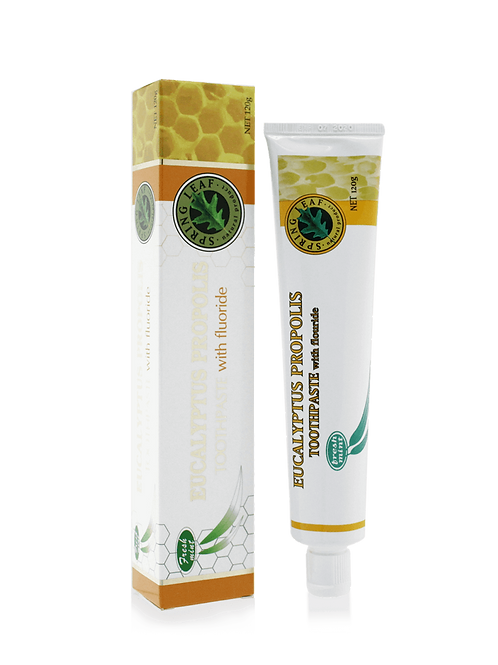 Eucalyptus Propolis Toothpaste with fluoride