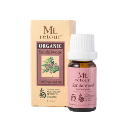 SANDALWOOD CERTIFIED ORGANIC ESSENTIAL OIL (MR17) 10ML