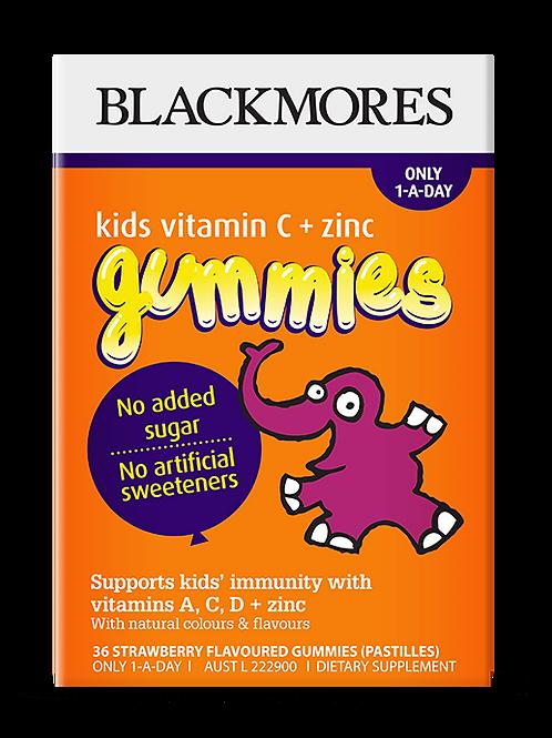 Kids Vitamin C + Zinc Gummies