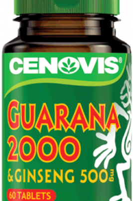 Cenovis Guarana 2000 & Ginseng 500mg