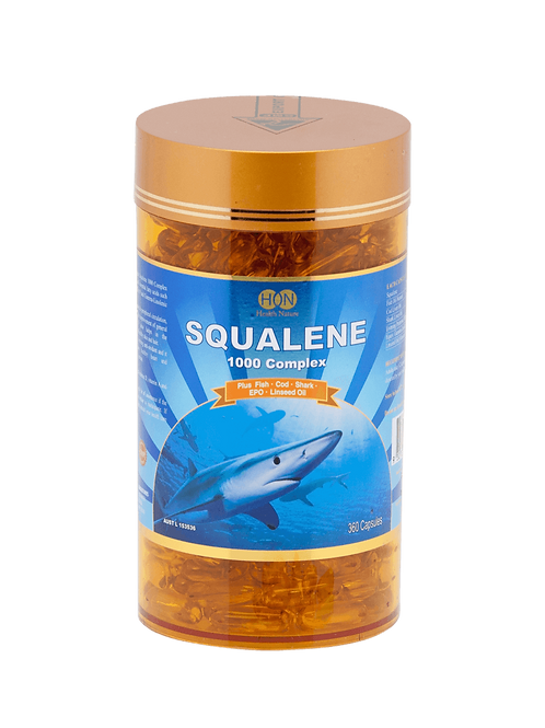 Squalene 1000mg Complex 360 Capsules