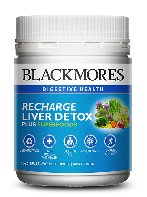 Recharge liver detox with superfoods