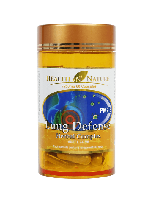 Lung Defense 7250mg 60 Capsules