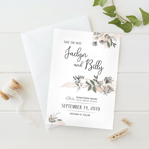 Jaclyn & Billy | SAVE THE DATE