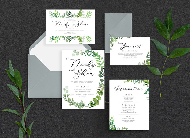 Nicky & Shea | WEDDING SUITE
