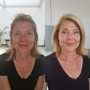 Before and After on this lovely woman to
