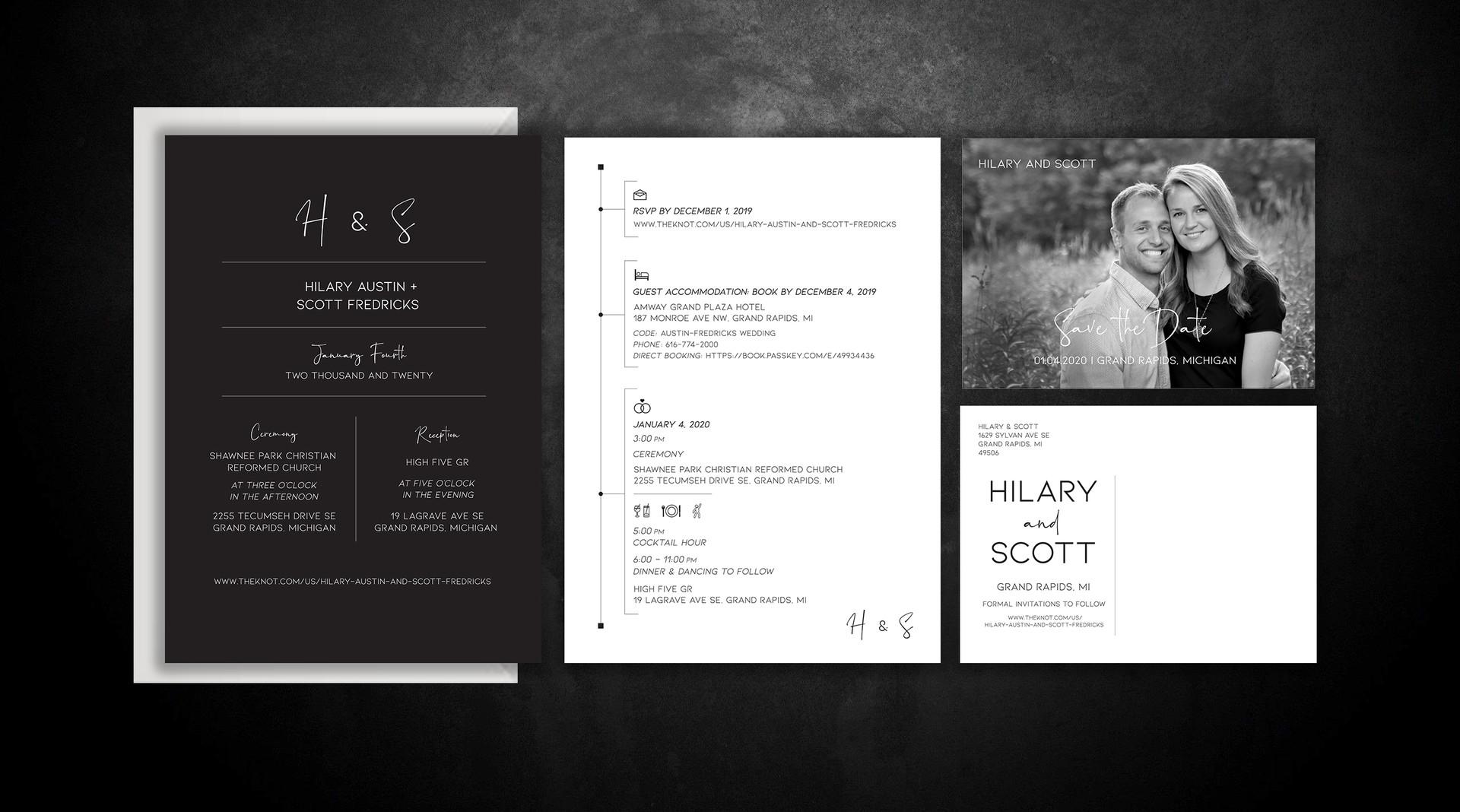 Hilary & Scott | WEDDING SUITE