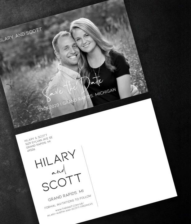 Hilary & Scott | SAVE THE DATE