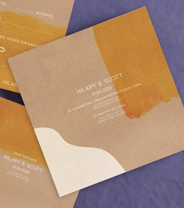 Hilary and Scott | INVITATION