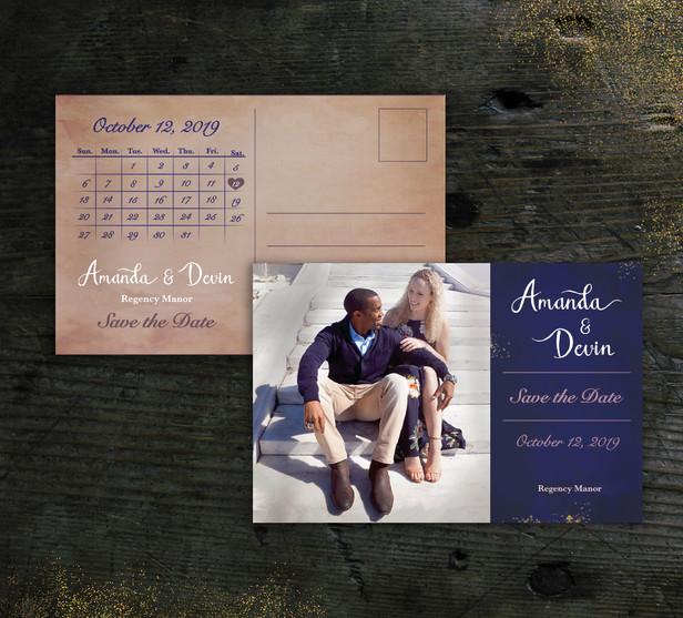 Amanda & Devin | SAVE THE DATE