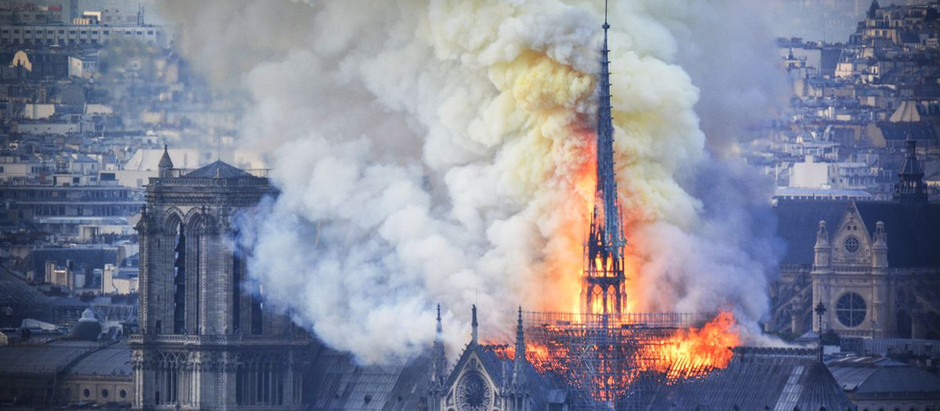 Notre-Dame fire: Pledges pour in to rebuild cathedral