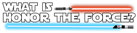 honor the force jedi sith lightsaber star wars