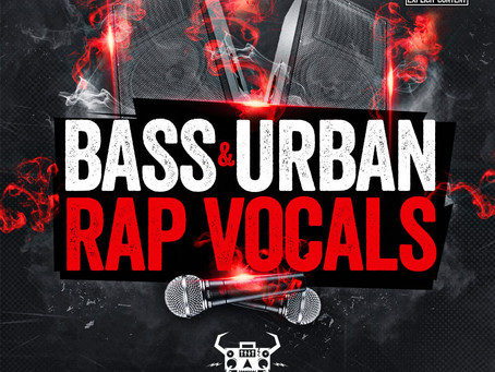 Monster Sounds Launches Bass & Urban Rap Vocals Sample Pack