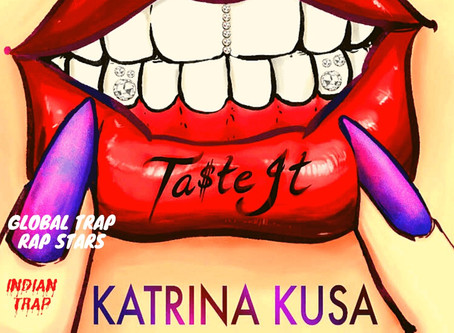 American Songwriter & Singer Katrina Kusa Is Making Waves With Her Debut Single 'Ta$te It'