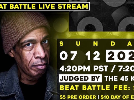 Live Stream Producer Battle This Sunday, July 12