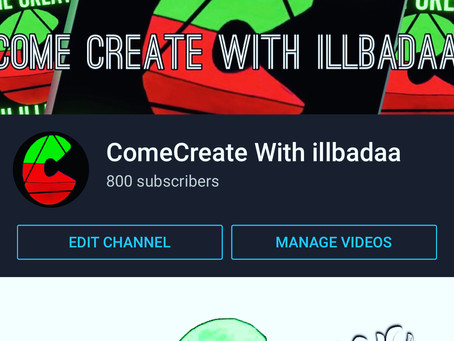 ComeCreate With Illbadaa - A Hub Of Audio Visual Genius - #HHOE