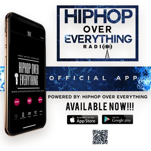 Radio Spins on #HHOEradio Mobile App