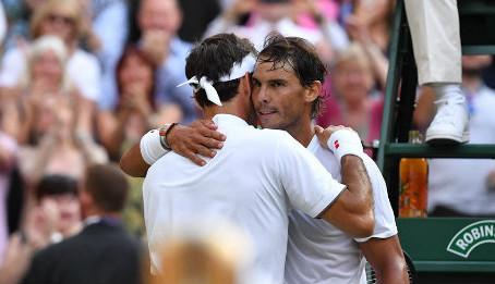 Nadal: 'O Roger ήταν καλύτερος'