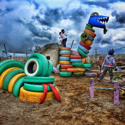 Parque Infantil Aj Sya, Patzizía