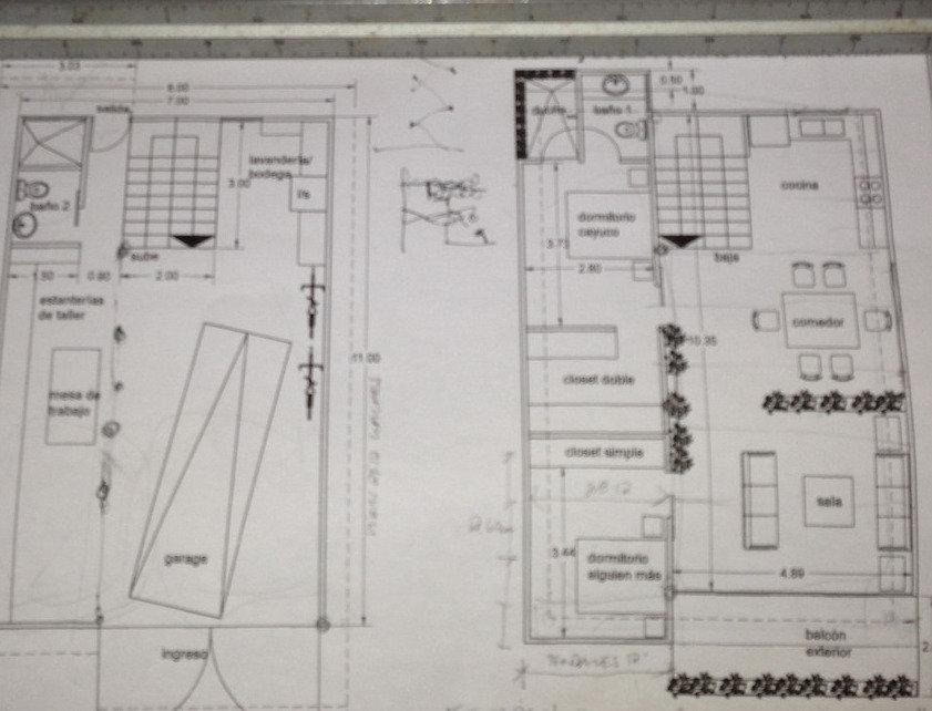 Dibujo de planos