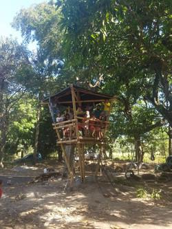 Casita de Bambú