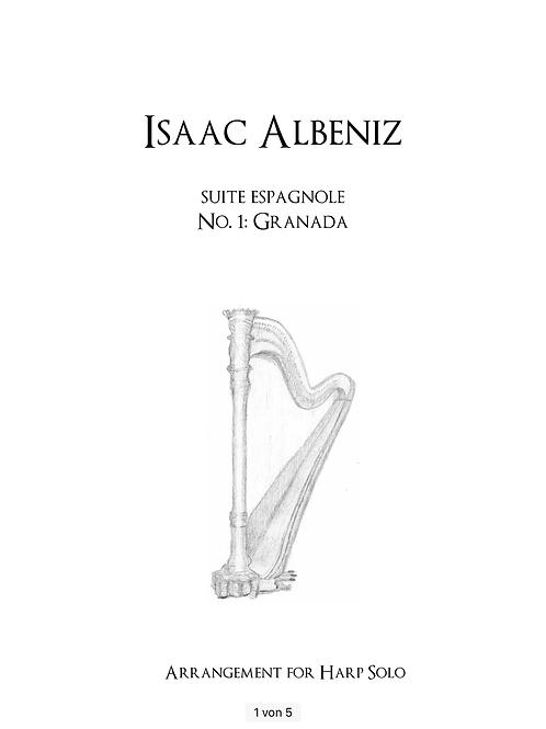 PDF Noten - Albéniz: Granada (aus der Suite espagnole)