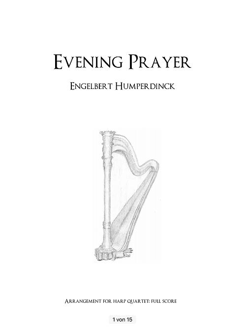 PDF Noten Abendsegen - Evening prayer von Humperdinck
