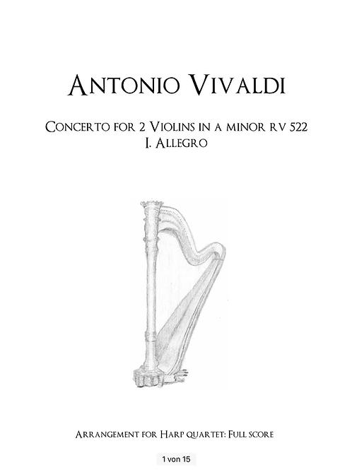 PDF Noten Vivaldi Allegro RV 522