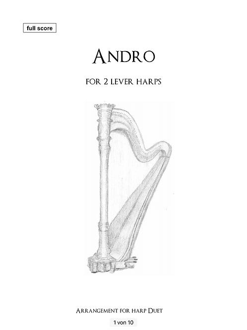 Andro - Arrangement für 2 Hakenharfen