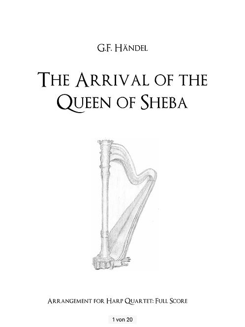 PDF Noten G.F. Händel - Die Ankunft der Königin von Saba