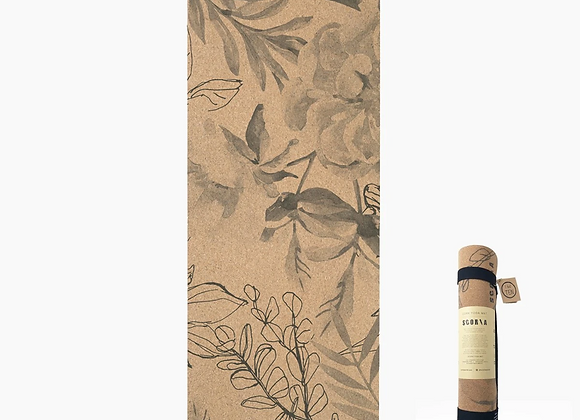 Blossom Cork Yoga Mat (4.5mm)
