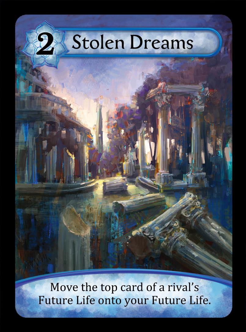 Stolen Dreams Card