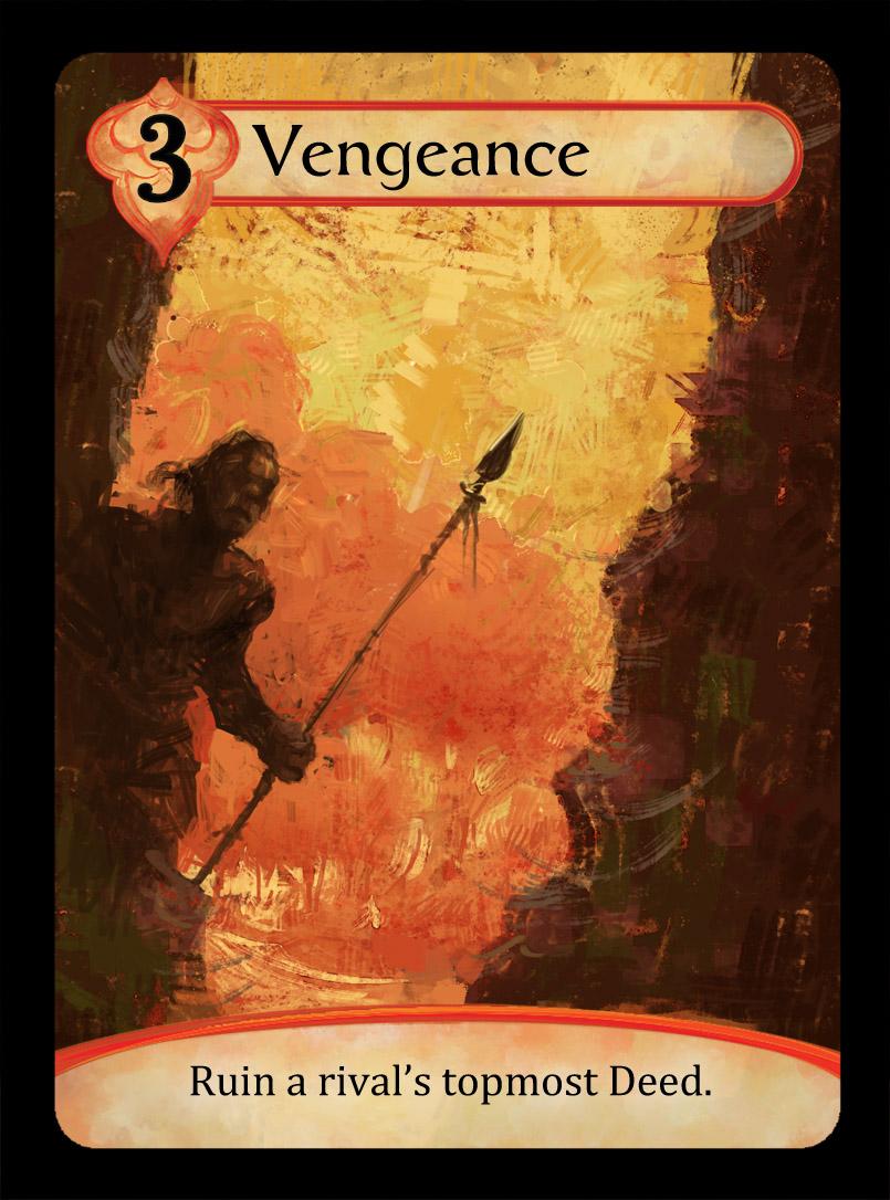 Vengeance Card