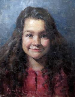 "Jaquelynne. Oil on Canvas - 16x20"""