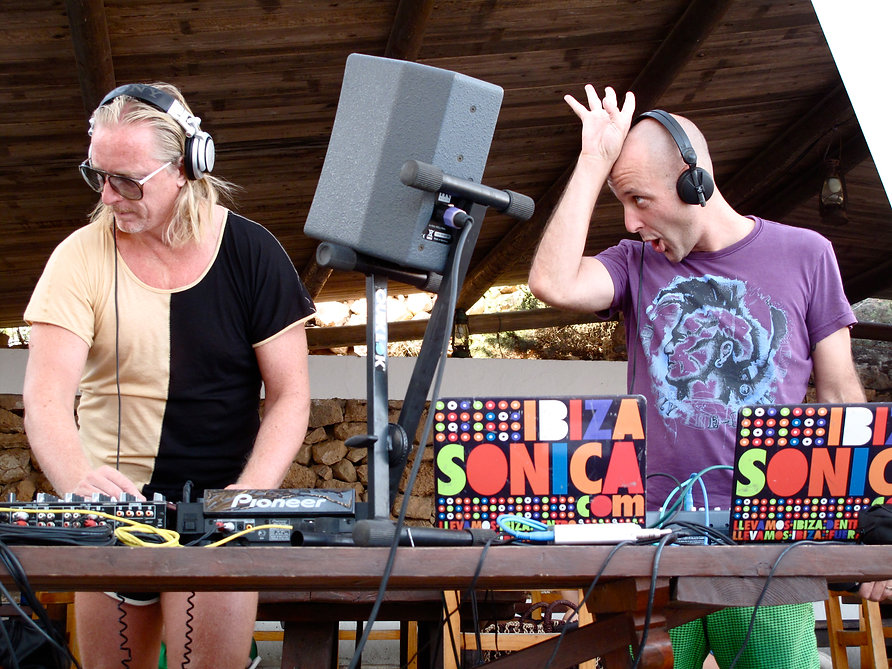 Creativity concept and event production, booking talent for Diesel in Ibiza, Dj Hell, Bonobo