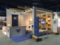 SMB Facebook Stand, Madrid,Paris, Lyon. Stand desing and cosntruction, production event.