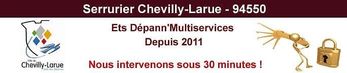 Serrurier-Chevilly-Larue
