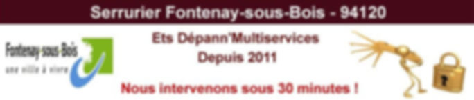 serrurier-fontenay-sous-bois