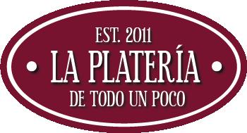 Logo granate La Platería