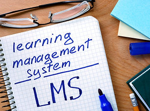 Note with words learning management syst