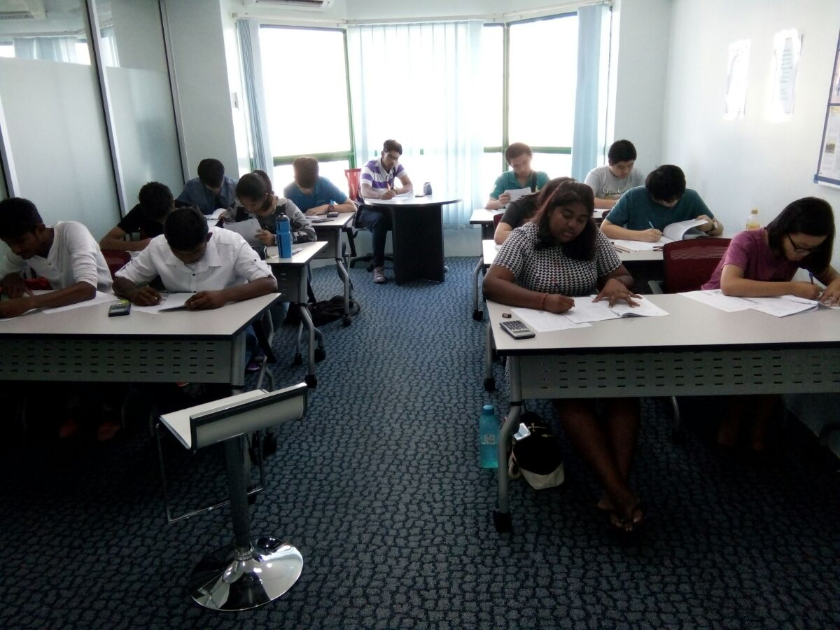 Start-Up test takers