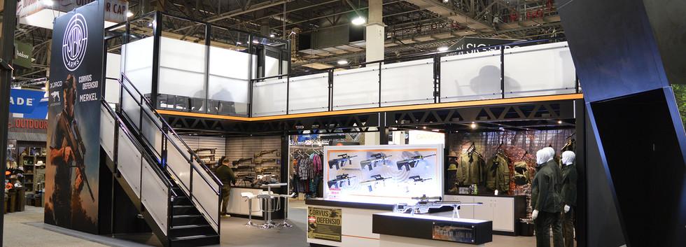 Steyr Arms SHOT Show Booth Angle 2