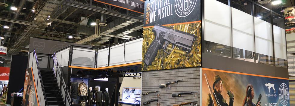 Steyr Arms SHOT Show Booth Angle 1